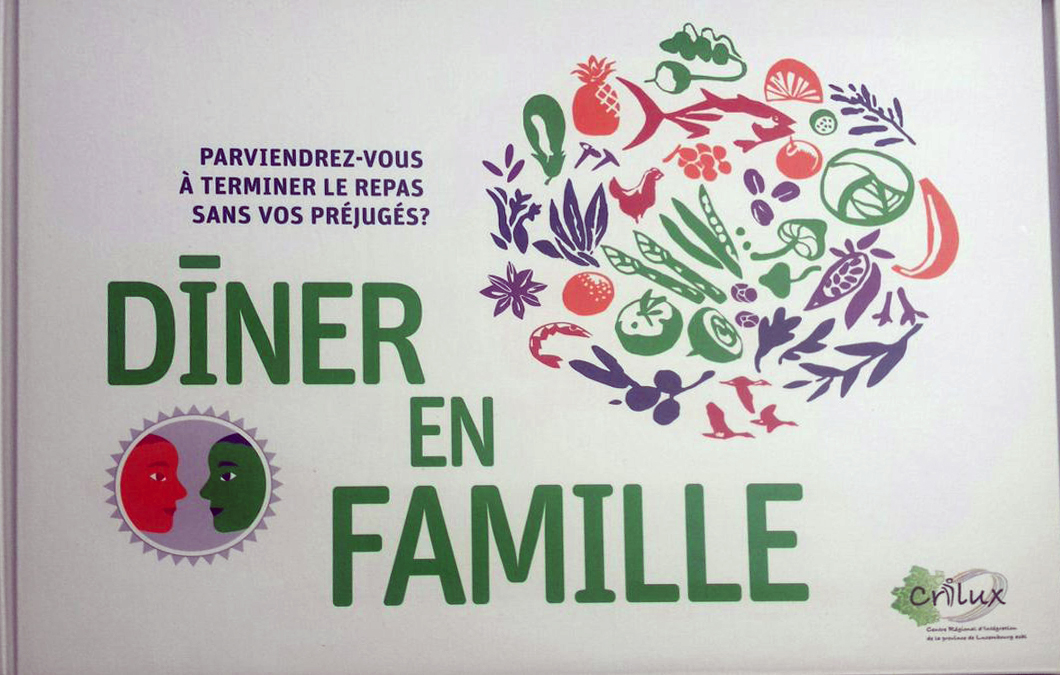 """Outil pédagogique """"Dîner en famille"""" - CRILUX"""